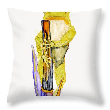Just Standing Here Throw Pillow