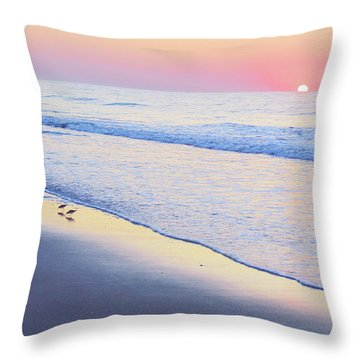Just The Two Of Us - Jersey Shore Series Throw Pillow