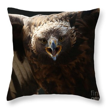 Just Try Me Throw Pillow