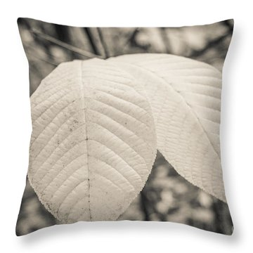 Just Two Left Throw Pillow by Ana V Ramirez