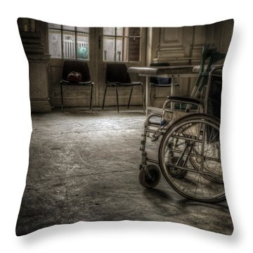 Just Walk Away Throw Pillow by Nathan Wright