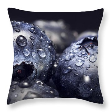 Just Washed Throw Pillow by Happy Home Artistry