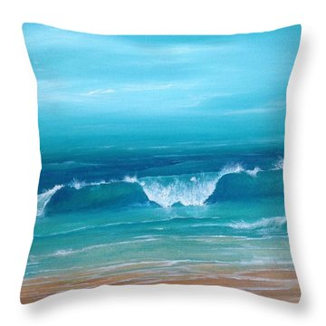 Just Waving Throw Pillow