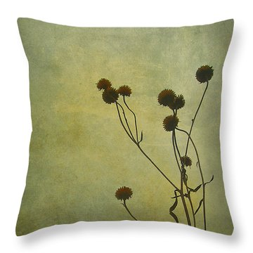 Just Weeds . . . Throw Pillow