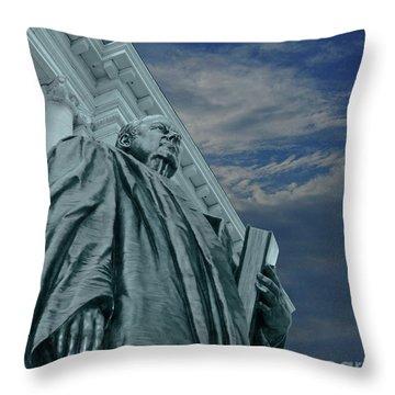 Justice Throw Pillow