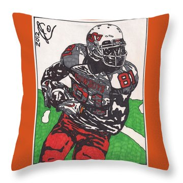 Justin Blackmon 2 Throw Pillow