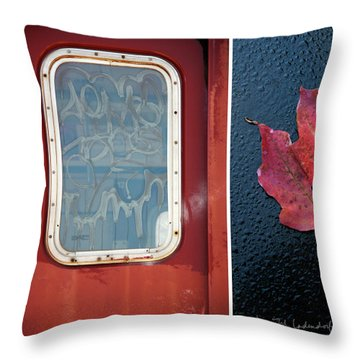 Juxtae #14 Throw Pillow