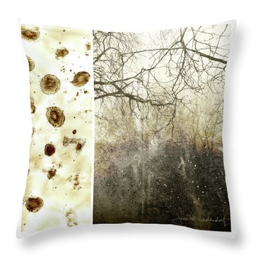 Juxtae #17 Throw Pillow