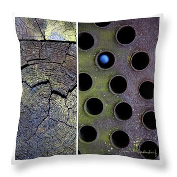 Juxtae #58 Throw Pillow