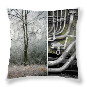 Juxtae #61 Throw Pillow