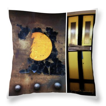 Juxtae #78 Throw Pillow