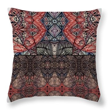Juxtaposition Image One Throw Pillow