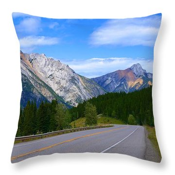 Kananaskis Country Throw Pillow