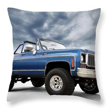 K5 Blazer Throw Pillow