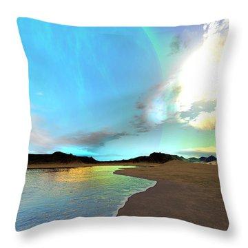 Kaden Prime Throw Pillow by Corey Ford