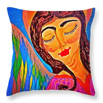 Kaeylarae Throw Pillow