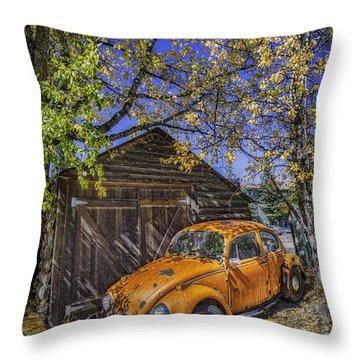 Kafer Beetle Throw Pillow