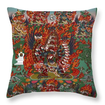 Kagye Tsasum Tersar Throw Pillow