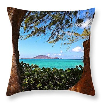 Kailua Throw Pillow