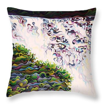 Kakabeca's Concertillion Throw Pillow