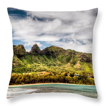 Kalalea Mountain Throw Pillow