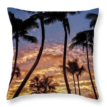 Kalapki Sunset Throw Pillow