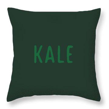 Kale Throw Pillow