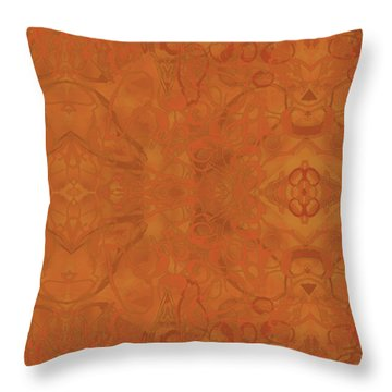 Kaleid Abstract Moroccan Throw Pillow