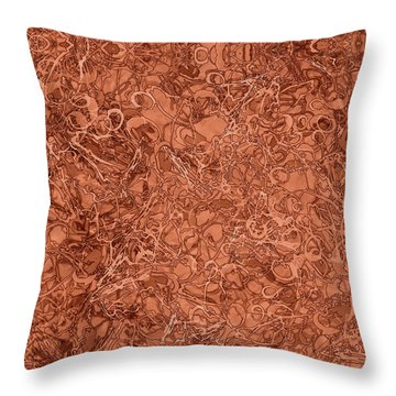Kaleid Abstract Nest Throw Pillow