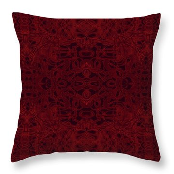 Kaleid Abstract Reverence Throw Pillow