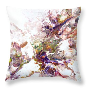 Kaleidescope Of Color Throw Pillow