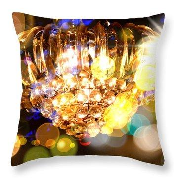 Kaleidoscope Of Light Throw Pillow
