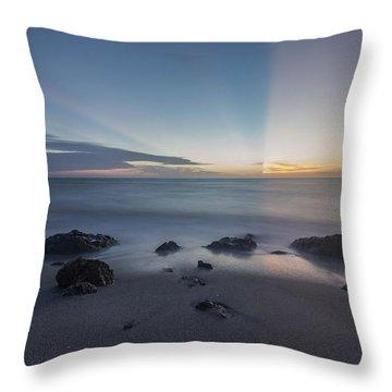 Throw Pillow featuring the photograph Kaleidoscope  Sunset by Paul Schultz