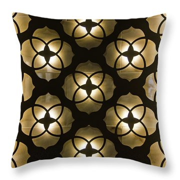 Kaleidoscope Wall Throw Pillow