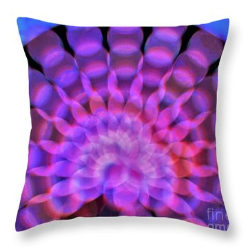 Kaleidoscope5 Throw Pillow