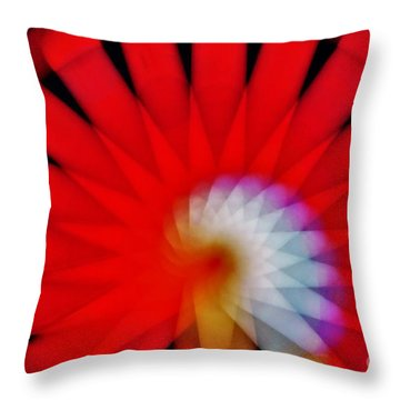Kaleidoscope6 Throw Pillow