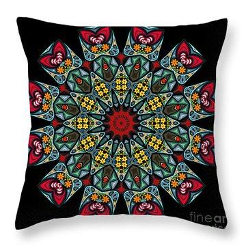 Throw Pillow featuring the digital art Kali Katp - 10 by Aimelle