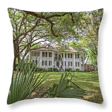 Kaminski House Museum Throw Pillow