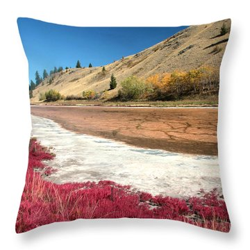 Kamloops Autumn Throw Pillow