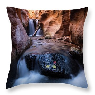 Kanarra Creek Throw Pillow