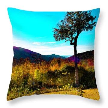 Kancamagus Sunset Throw Pillow