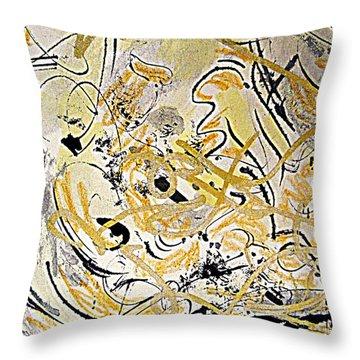 Kandinsky Echo Throw Pillow