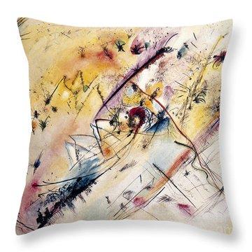Kandinsky: Light, 1913 Throw Pillow by Granger