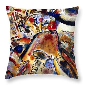 Kandinsky Small Pleasures Throw Pillow by Granger