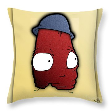 Kangol Kool Throw Pillow