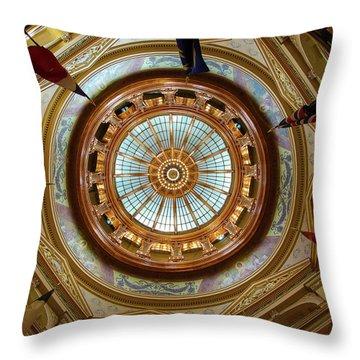 Kansas Dome Throw Pillow