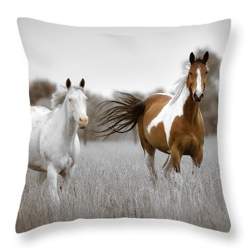 Kansas Wind Throw Pillow