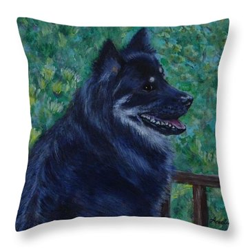 Kapu Throw Pillow