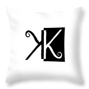 Karma Throw Pillow by David S Reynolds