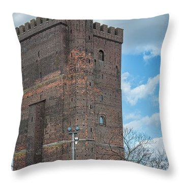 Throw Pillow featuring the photograph Karnan In Helsingborg by Antony McAulay